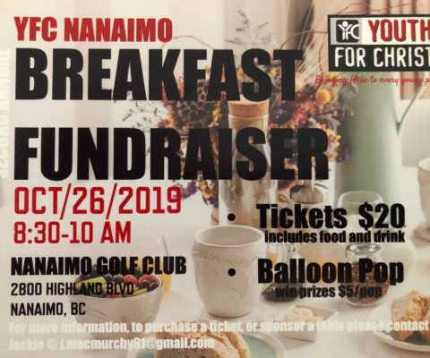 Our Annual Breakfast Fundraiser is here!